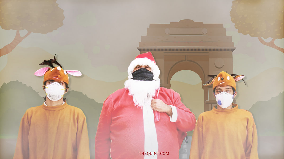 Santa Dedicates New Version of Jingle Bells to Delhi's Killer Smog