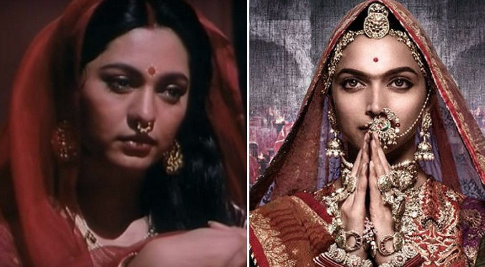 Benegal portrayed a less glamorous version of the 'goddess queen'.
