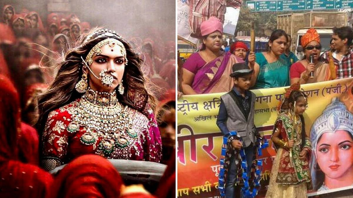 'Padmavati' has sparked a series of protests  across the country.