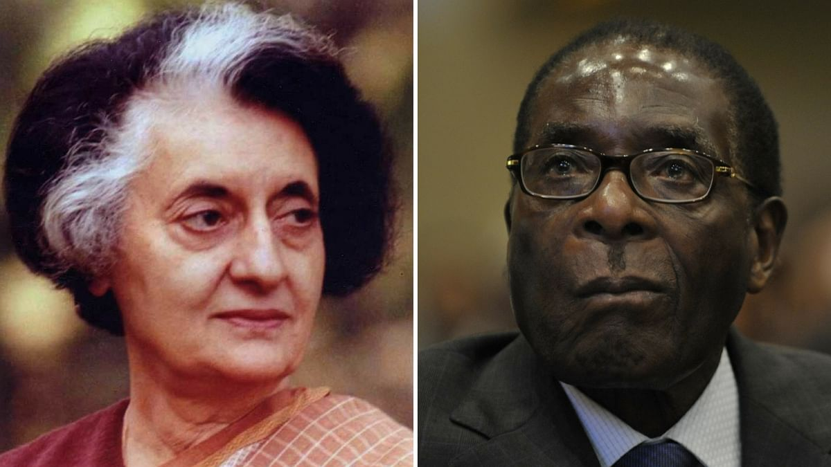 When Indira Met Mugabe During Zimbabwe's Independence Celebrations