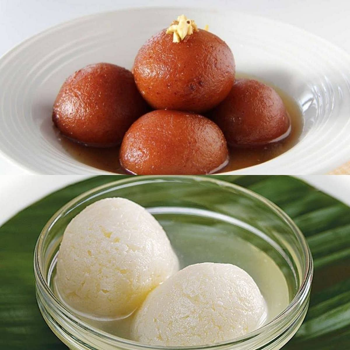 The rosogolla comes in many varieties.