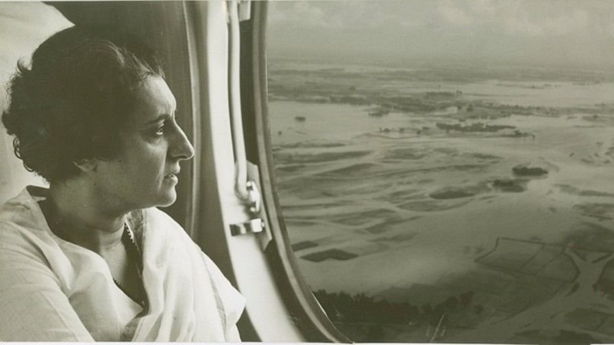 India's 1st Woman PM & A Doting Granny: Rare Pics of Indira Gandhi