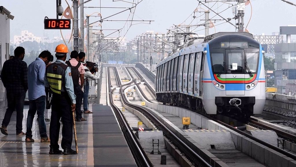 The 10-km Ameerpet-Hitec City Metro Rail service will become operational from March 20.