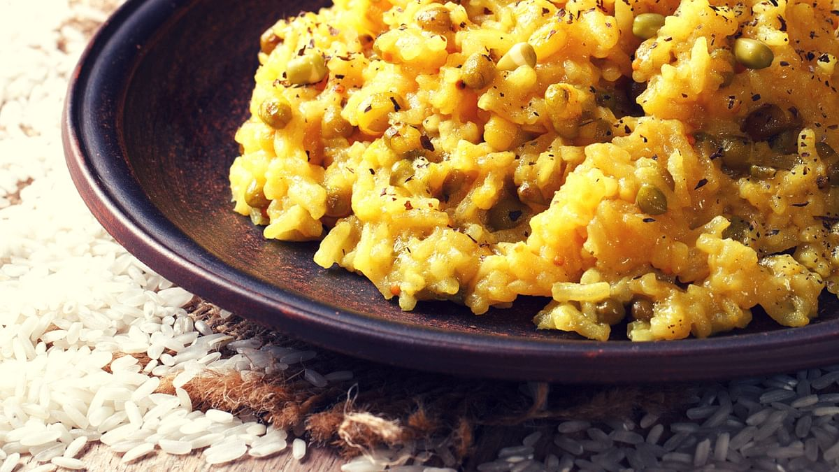 The simple and delicious khichdi!