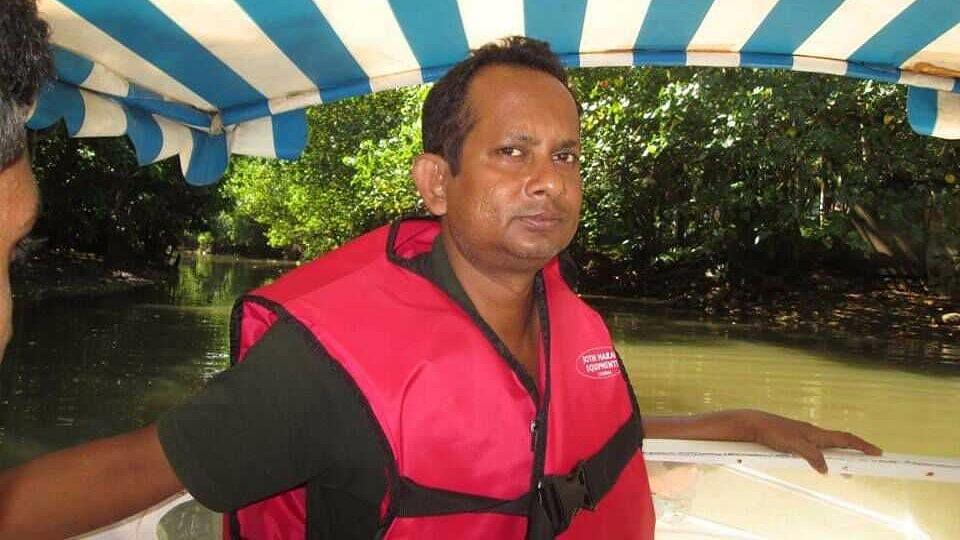 Tripura Journalist Sudip Datta Bhowmik.