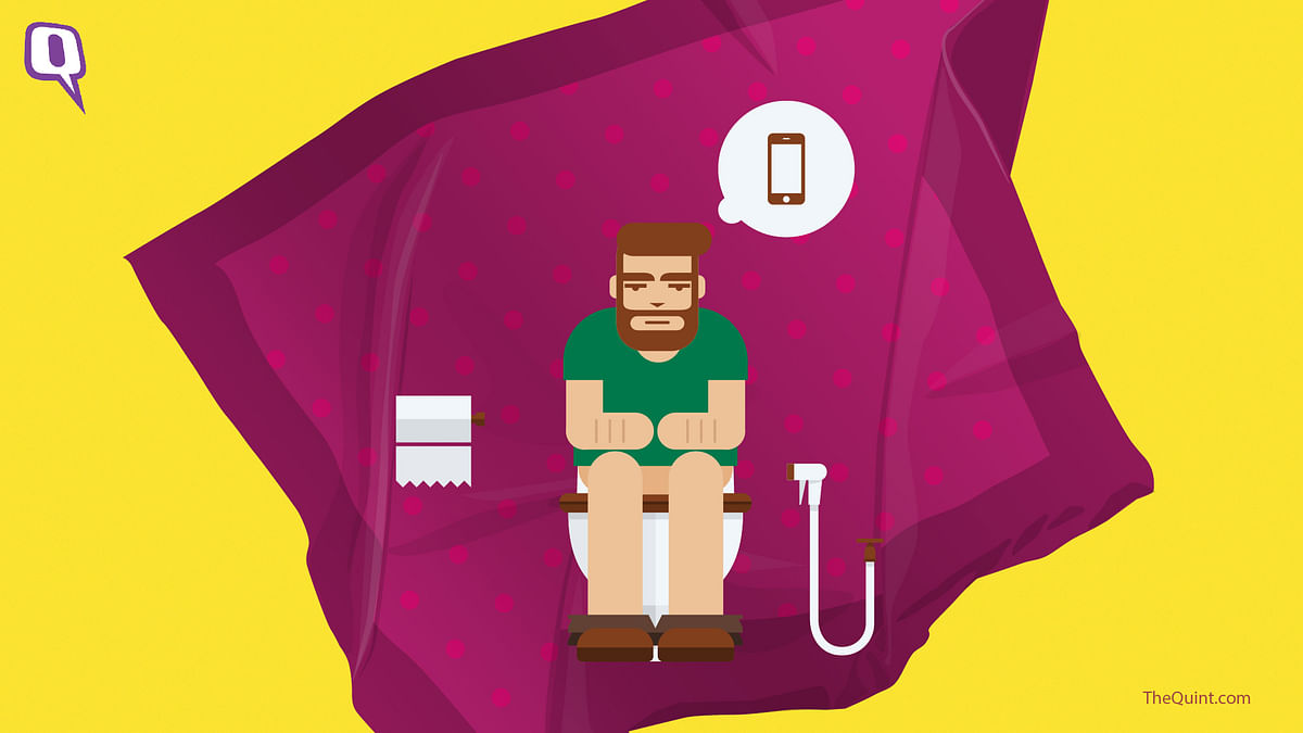 Using Phone in the Loo? That's One Reason Why You're Always Sick