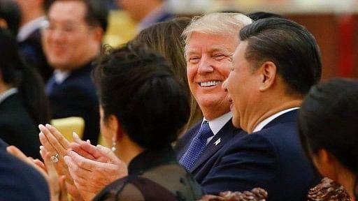 Trump Skirts 'Forbidden Firewall' to Tweet About Beijing Trip
