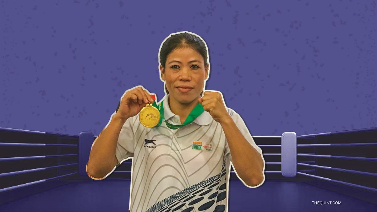 File photo of Mary Kom who won a gold for India at the Silesian Open Boxing Tournament this Sunday.