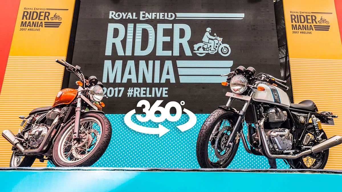 Here's a 360-degree look at what when down at Rider Mania 2017.