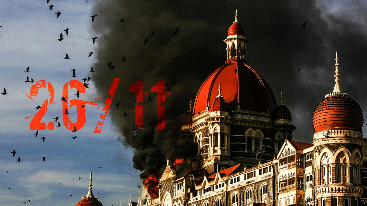The Taj Hotel in Mumbai 26/11 attack.