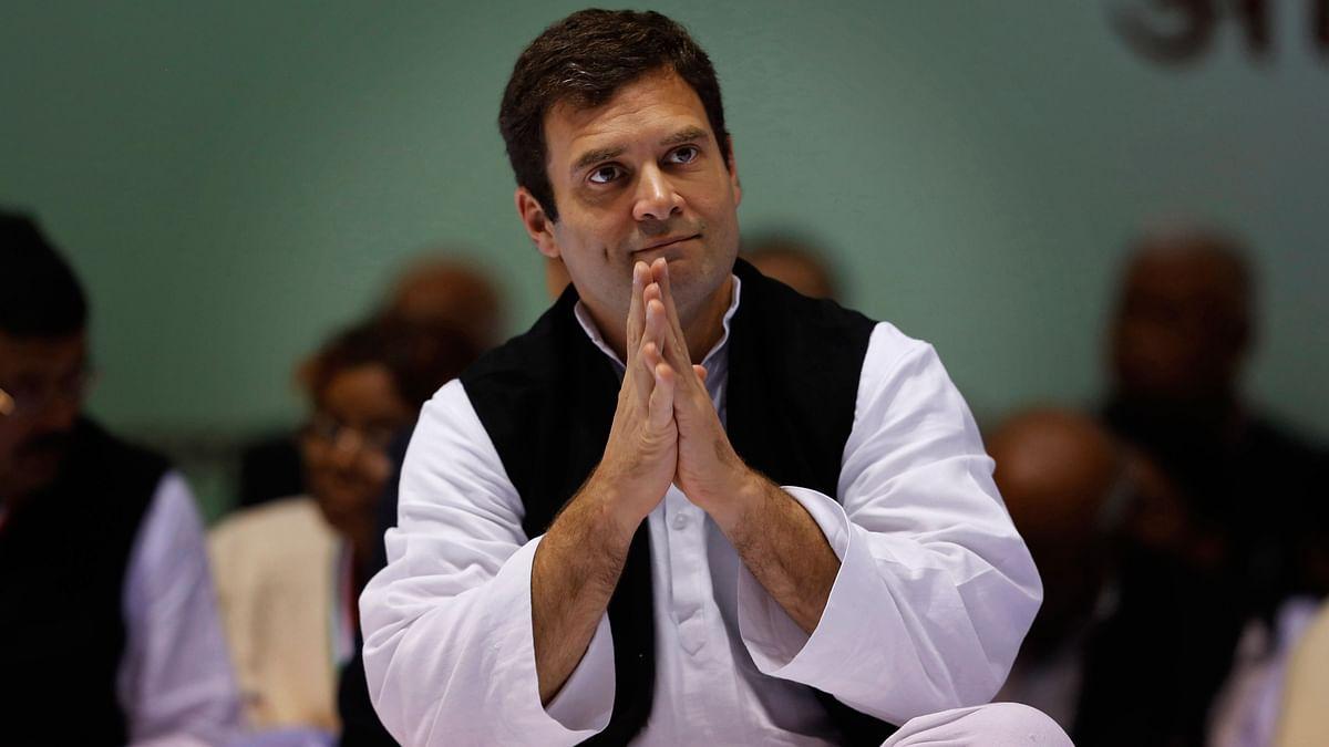 Congress President Rahul Gandhi.