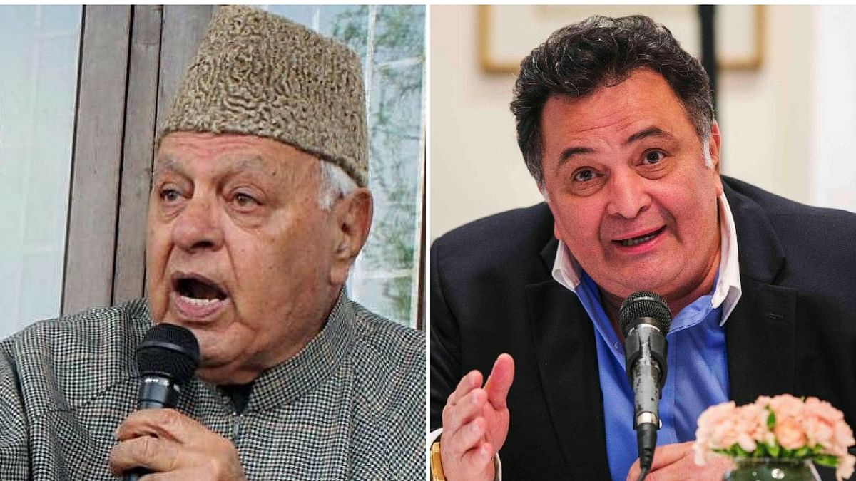 A complaint has been filed against Farooq Abdullah and Rishi Kapoor for saying PoK belongs to Pakistan.