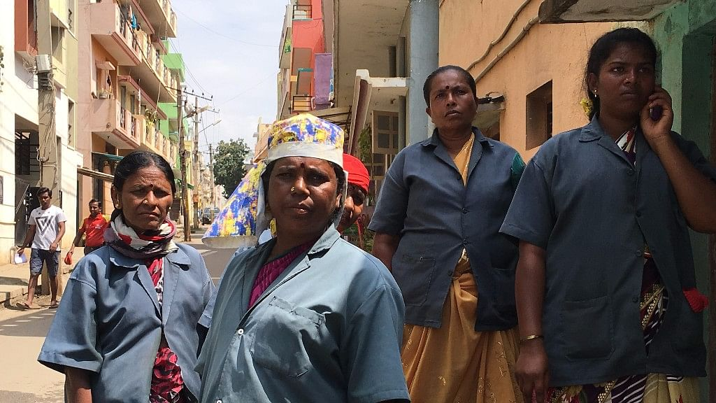 Watch: Sweepers Stand up Against Sexual Harassment in Bengaluru