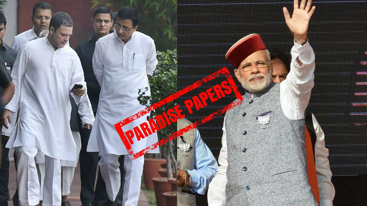 Paradise Papers: Cong Flays Modi for 'Zero Action' on Black Money