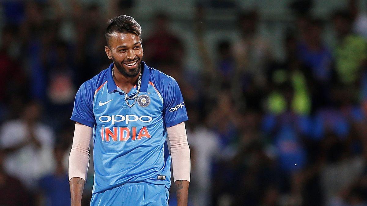 Hardik Pandya has played just three Tests for India.
