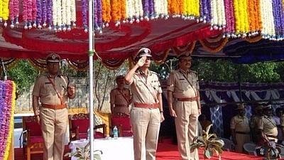 Neelamani N Raju, Karnataka's first woman police chief.
