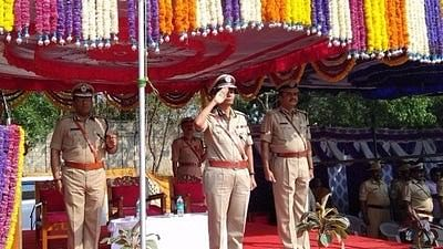 Neelamani N Raju, Karnataka's first woman police chief.