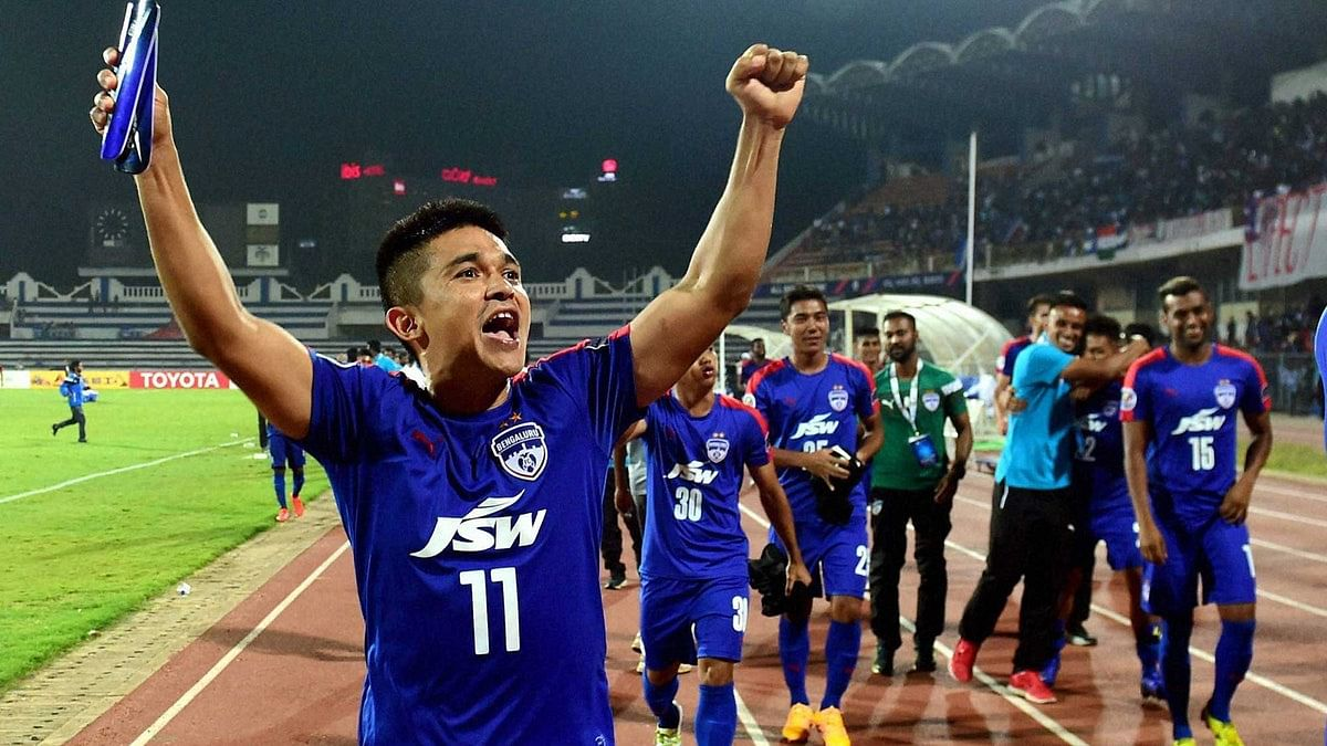 Of Bengaluru FC's retained players, star striker and Indian captain Sunil Chhetri has to be the most important.