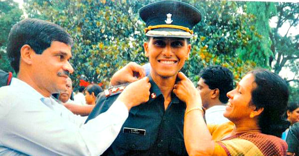 Sandeep Unnikrishnan was given the Ashoka Chakra by the Indian government,  the highest peace-time gallantry award.