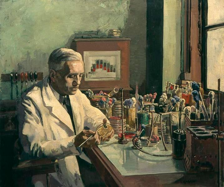 Alexander Fleming's discovery of Penicillin changed the course of history.