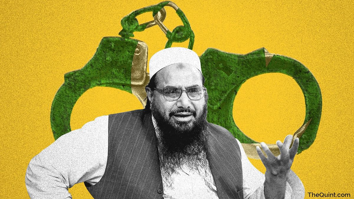 'Let Us Not Get Fooled,' Says India on Pak Booking Hafiz Saeed