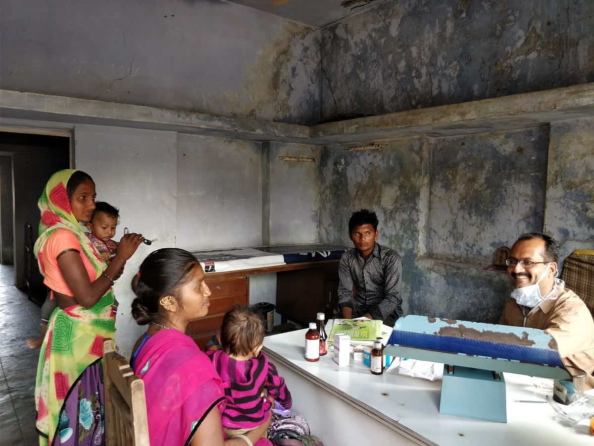A rudimentary health centre in Bavla taluka in Ahmedabad district.