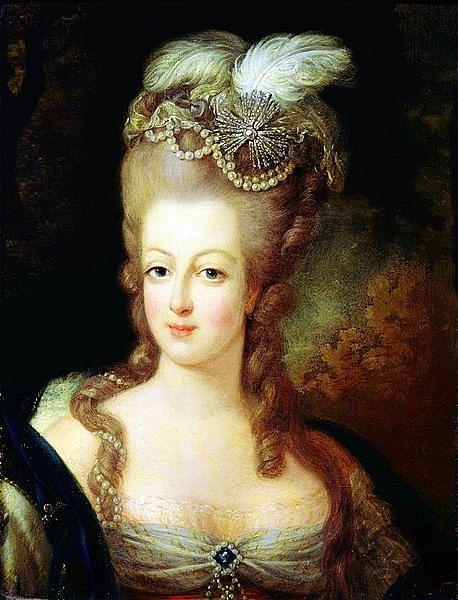 Marie Antoinette, last Queen of France.