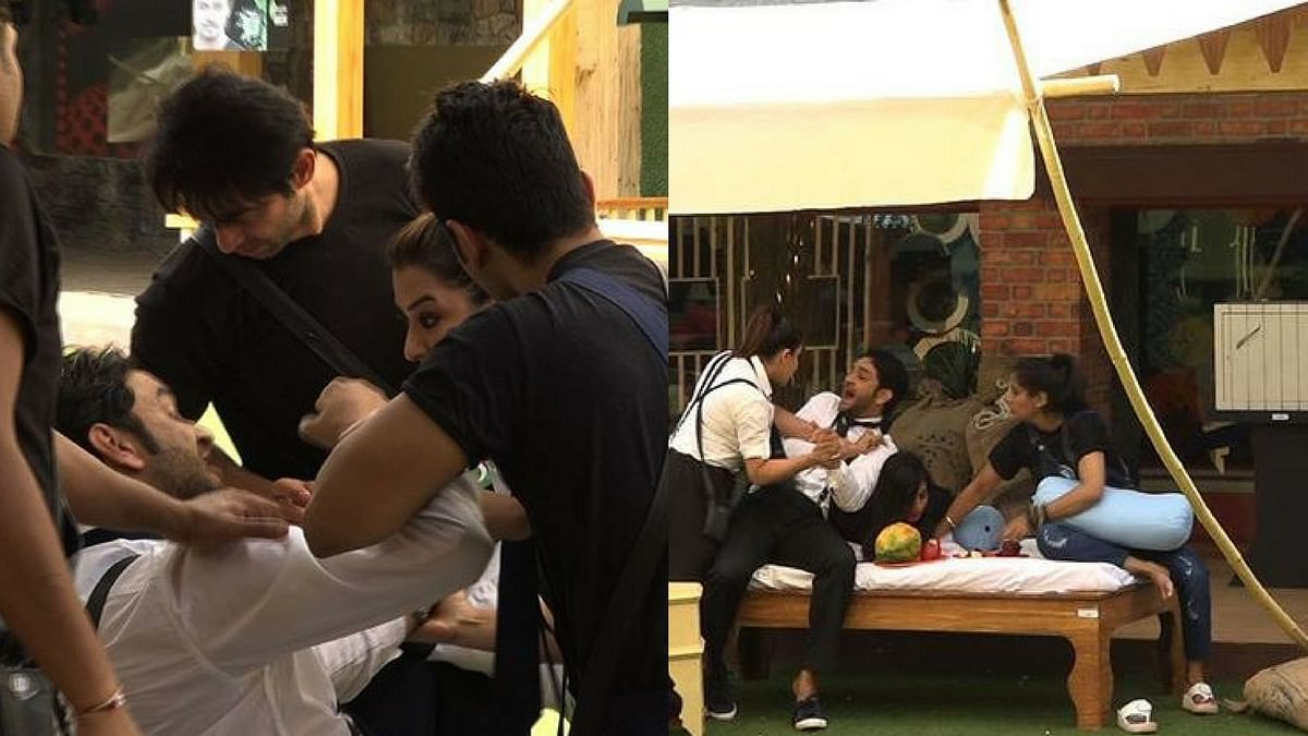 Vikas and Shilpa's fight reaches a new level altogether.
