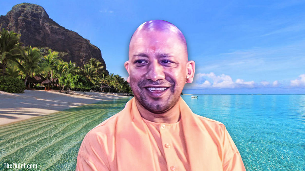 Yogi's trip to Mauritius draws controversy as Labour Party MP urges the prime minister to deny entry to UP CM.