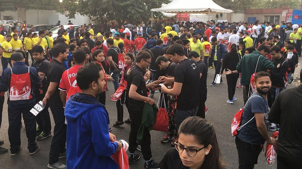 The Airtel Delhi Half Marathon saw a huge participation despite the bad air quality Delhi is reeling under.