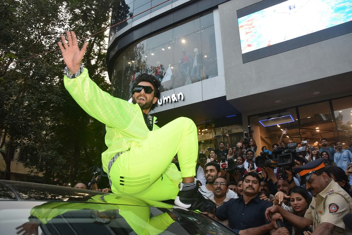 Ranveer Singh at the event.
