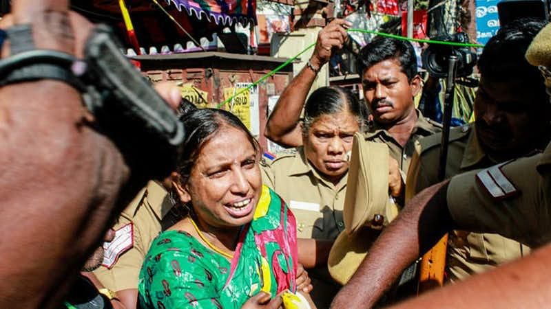 Rajiv Gandhi assassination case convict S Nalini.
