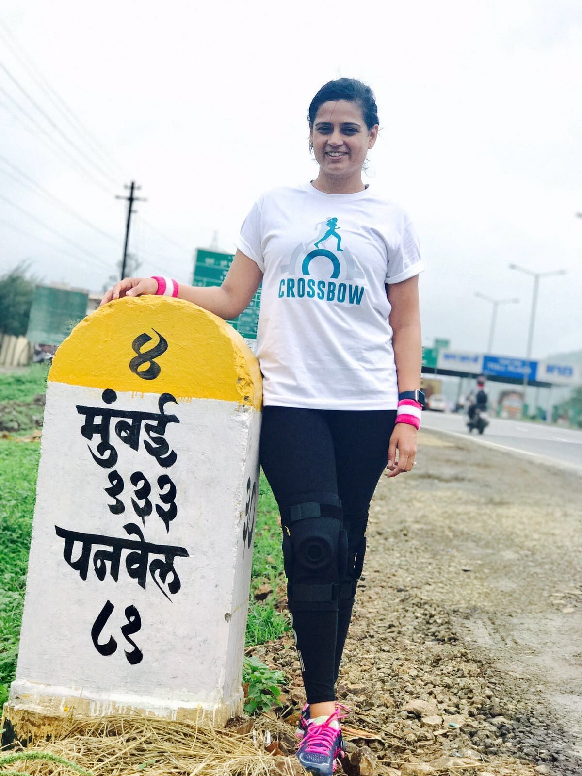 Srishti has been walking 25 kilometres every 24 hours for over 46 days.