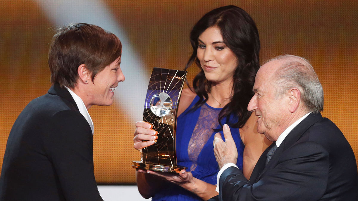 Hope Solo Accuses Ex-FIFA President Sepp Blatter of Sexual Assault