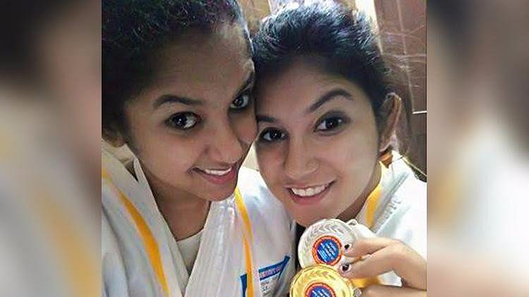 Nikitha and Neha suresh.