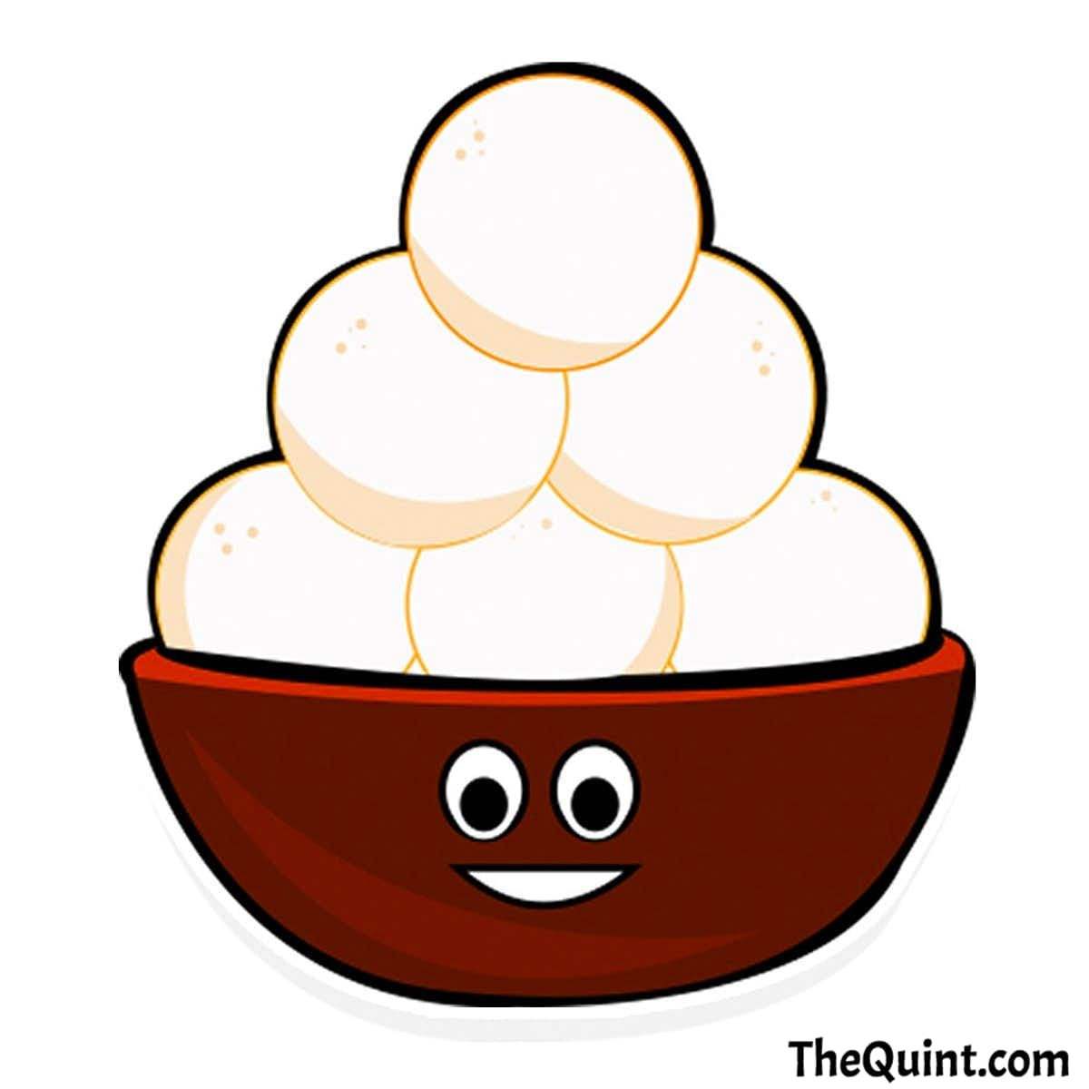 If we can have a rice cake emoji, why not a rosogolla one?