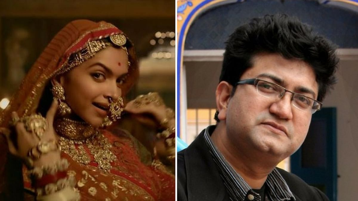 CBFC chief, Prasoon Joshi comments on <i>Padmavati. </i>