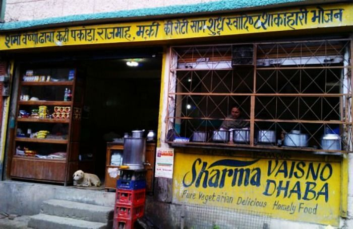 Representative picture of a <i>dhaba.</i>