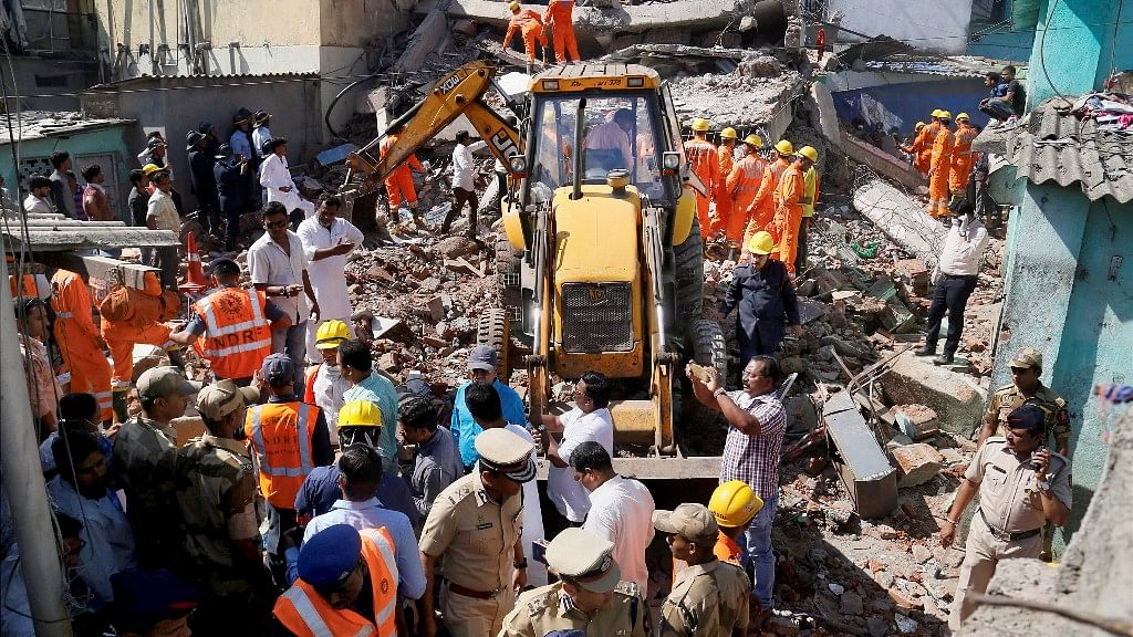 Four Killed in Bhiwandi Building Collapse, Owner Booked