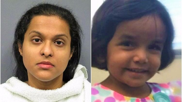 The Richardson Police Department charged Sini Mathews with 'Abandoning or Endangering a Child'.
