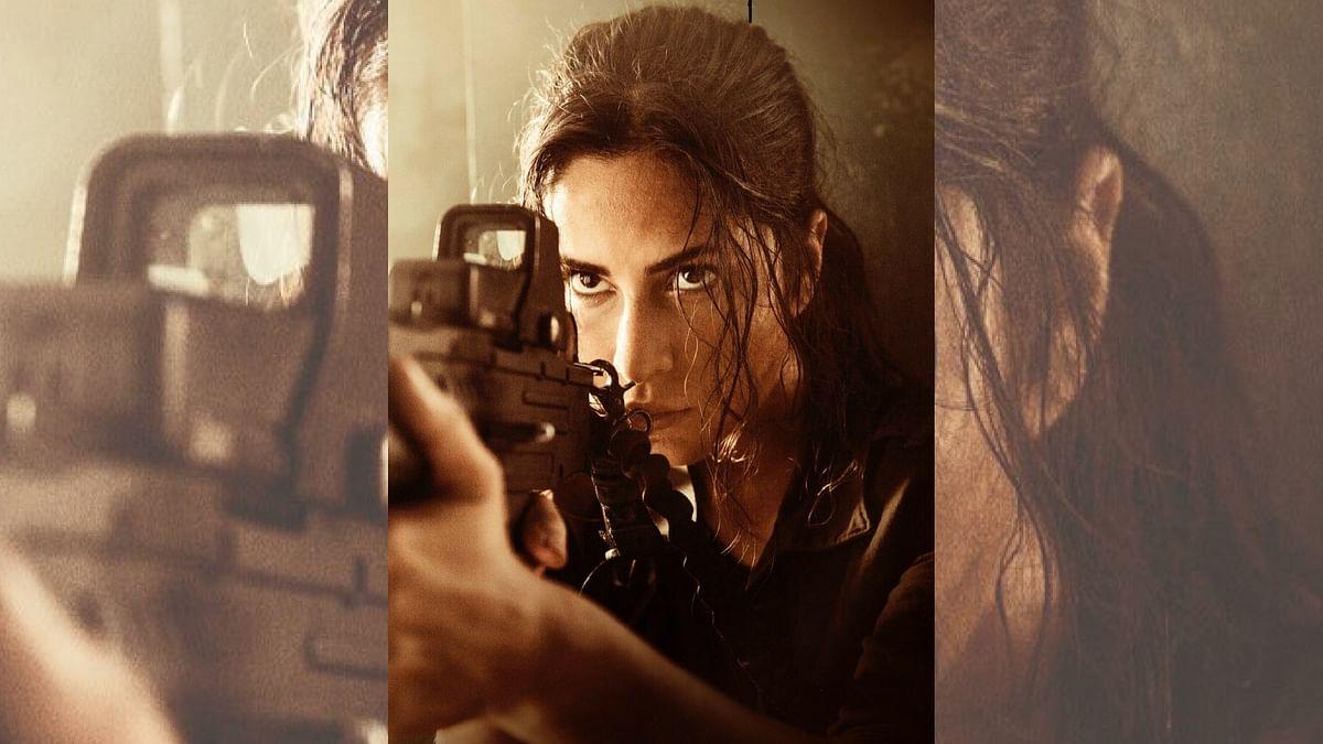 Katrina Kaif in a still from <i>Tiger Zinda Hai</i>.