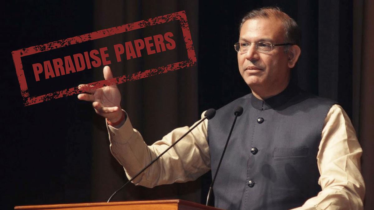 Transactions Not Personal: MoS Jayant Sinha on Paradise Papers