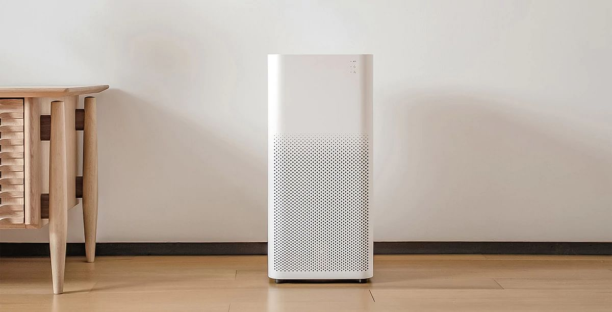 The Mi Air purifier comes with remote control capabilities