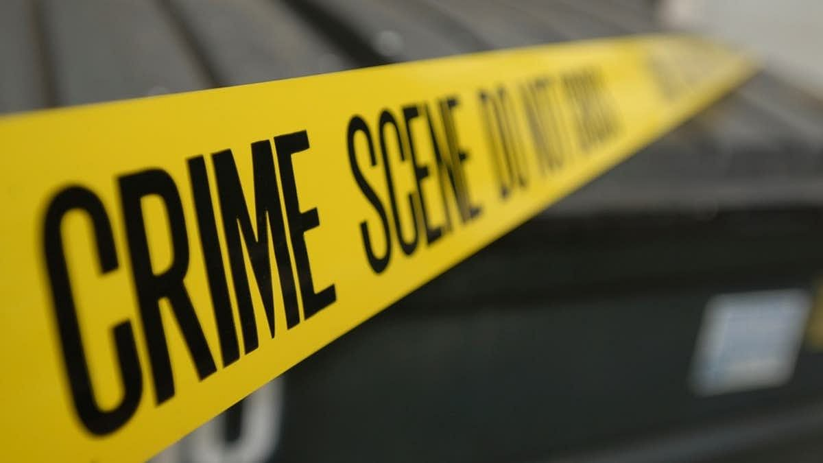 A representational image of a crime scene.