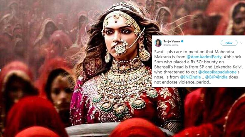 Fact check on BJP's claims of not being violent on Padmavati issue.
