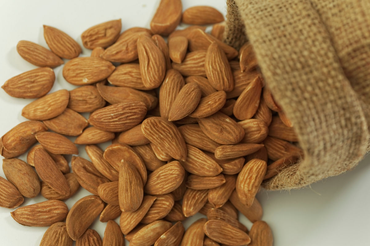 Almonds are great to build immunity.
