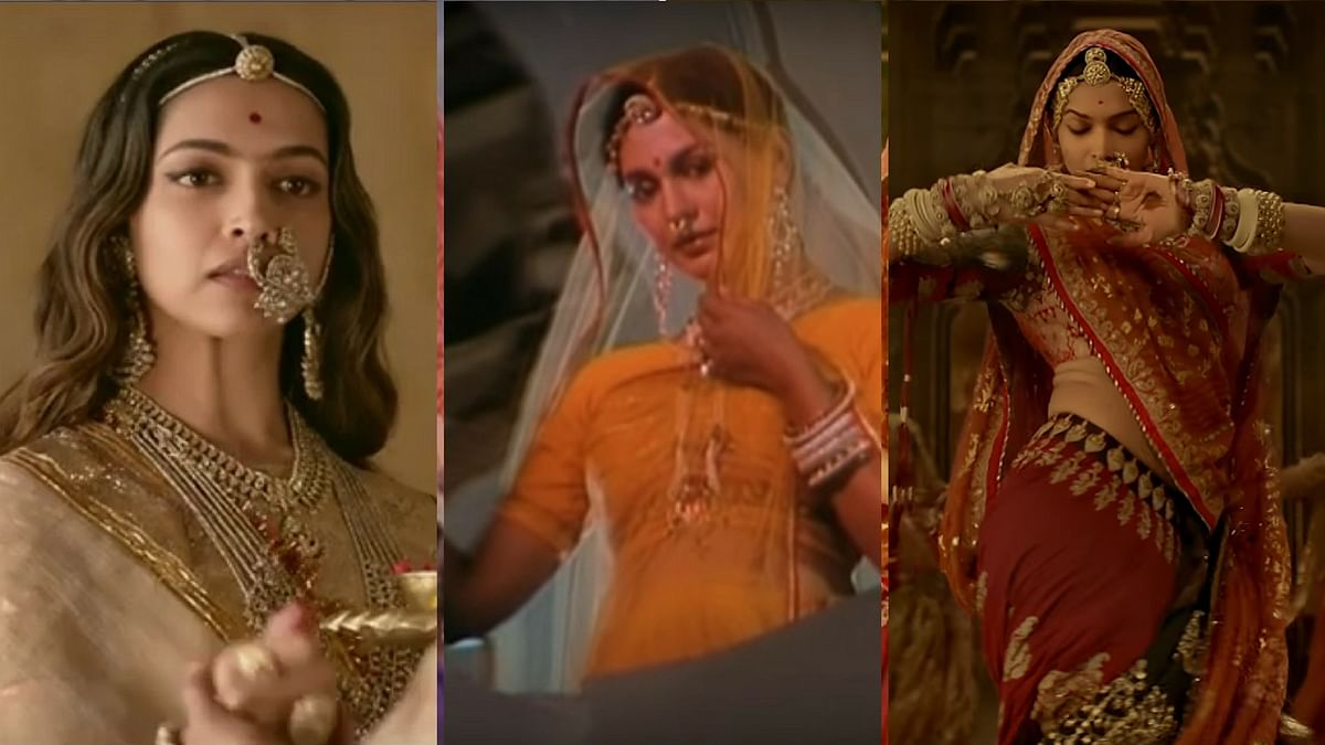 Deepika Padukone is being criticised for her attire, especially in the song <i>Ghoomar.</i>