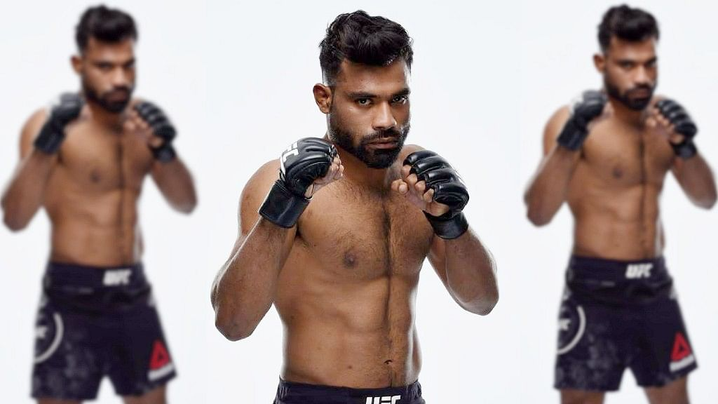 Bharat Khandare is the first Indian-born fighter in the MMA.