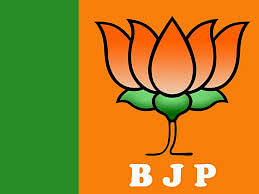 BJP logo does not only have saffron in it.