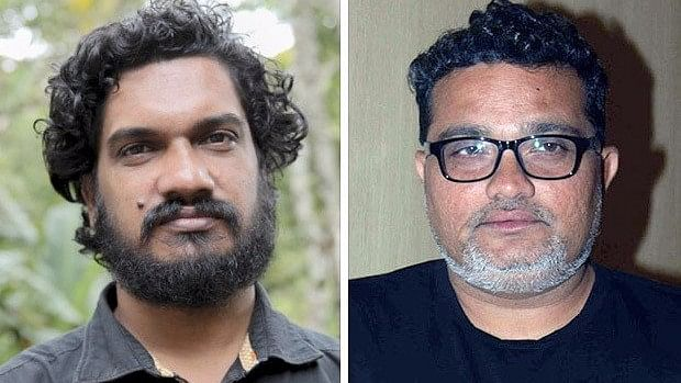 Sanal Sasidharan, director of <i>S Durga </i>and Ravi Jadhav, director of <i>Nude, </i>whose films were unceremoniously dropped from IFFI.